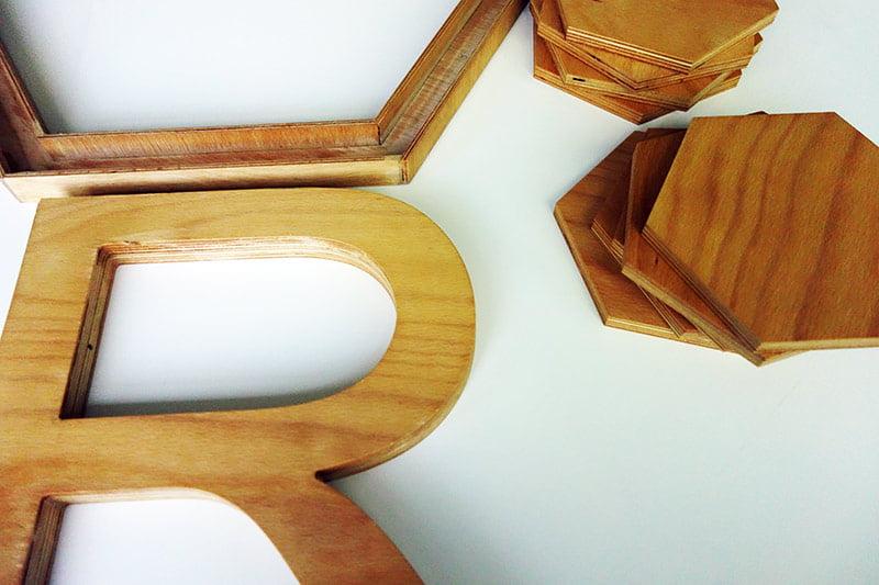 Forme din lemn făcute la router cnc