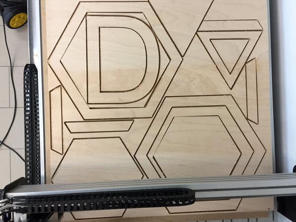 frezare CNC placaj lemn
